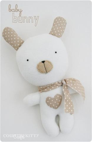 """baby bunny softie"" Photo by countrykitty / CC BY"