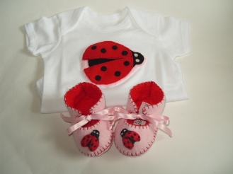 """""""ladybird baby gift set"""" Photo by FunkyShapes / CC BY"""